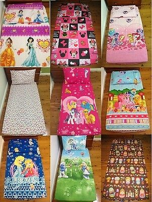 New Minnie, Princess, Little Pony, Smurf, Frozen, Hello Kitty Cot fitted sheet