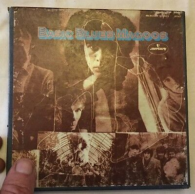 Blues Magoos Basic Blues Magoos  Reel Tape  Tested Guaranteed 3-3/4ips EX/VG++