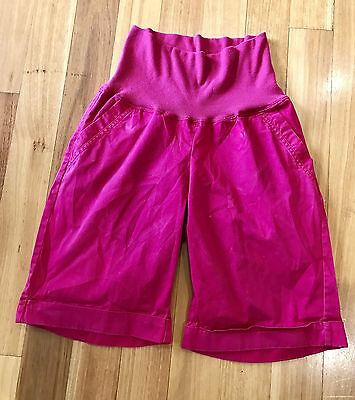 Target Maternity Pink Shorts Size 12