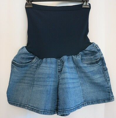 Women's Oh Baby Maternity Jean Shorts Size XL
