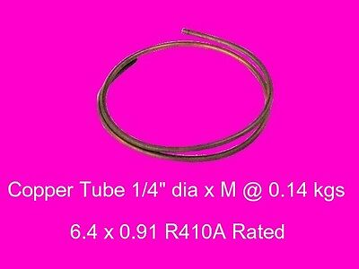 "Copper Round Tube 1/4"" dia x M mm-Steam-Lathe-Mill-Model-OG"
