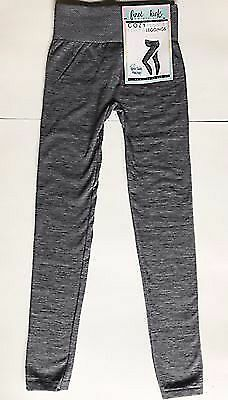 First Kick Cozy Fleece Lined Maternity Leggings One Size NEW