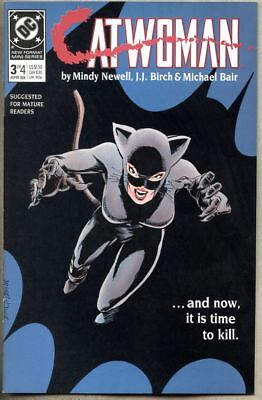 Catwoman #3-1989 nm  1st Catwoman series Batman Year One sequel Mindy Newell