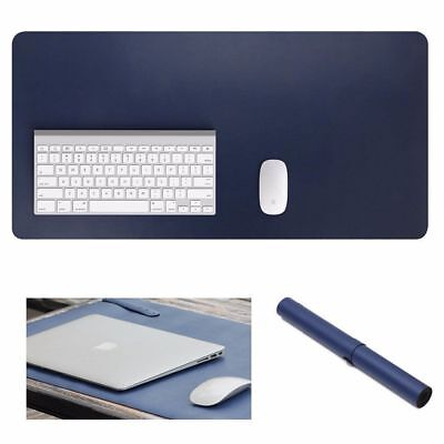 900x450mm Soft Leather Desk Writing Mat Non-slip PC Mouse Pad for Home Office UK