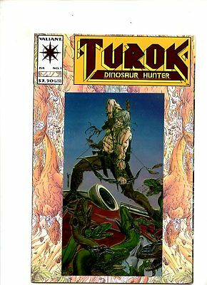 Turok Dinosaur Hunter #1 (1993) Valiant NM 9.4