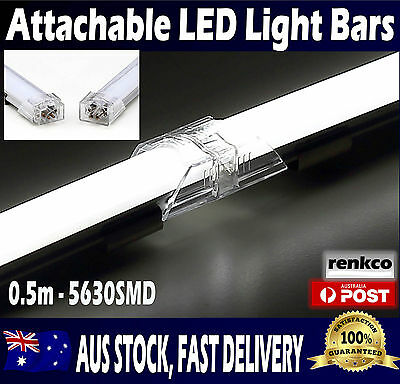 12V Attachable LED Strip Light Bars 12V Cool White 5630 For Kitchen, Cabinet