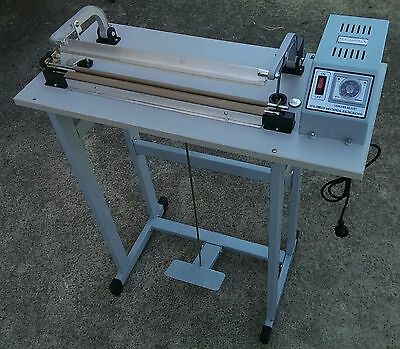 SEALANDPACK 400mm foot pedal impulse heat sealer with  --3mm sealing width