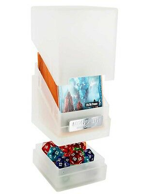 Ultimate Guard - Monolith Deck Case 100+ Frosted Jewel Edition - Gaming Box