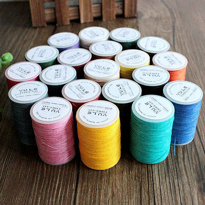 Hermes' Choice, A Spool of Top Quality 600 Wax Linen Thread, Paraffined Flaxen