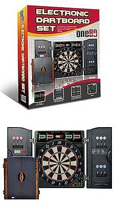 One80 Electronic Deluxe Dartboard Set - 180BED