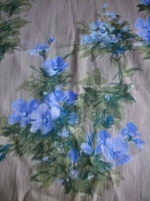 Quality  French Chateau Vintage  Drapes 1950 /60s