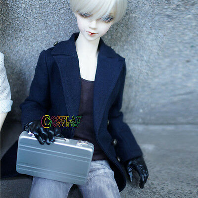 Unisex BJD Doll Use DOD Mini Suitcase Dollfie Accessories Sliver 1/3 1/4  Doll