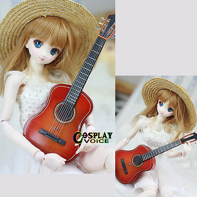 1/3 1/4 Male & Female Doll BJD DOD Doll Use 26cm Mini Guitar Dollfie Accessories