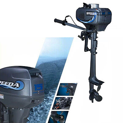 3.5HP Outboard Motor Boat Engine 2 Stroke CDI system for Inflatable Fishing Boat
