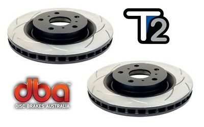 DBA T2 FRONT SLOTTED ROTORS suit FORD FALCON BA,BF & FG XR-6 298mm