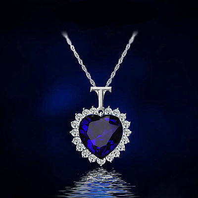 Donna Titanic Ocean Cristallo Ciondolo A Cuore Strass Collana Regalo GOOD