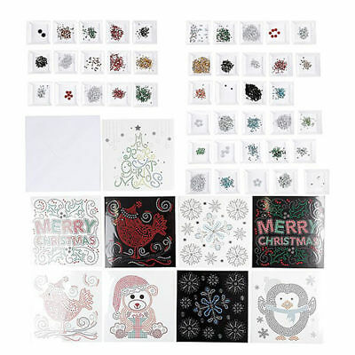 31-piece Christmas Crystal Card Bumper Kit - Makes 9 cards