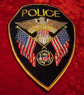 Elroy Wisconsin Police Patch