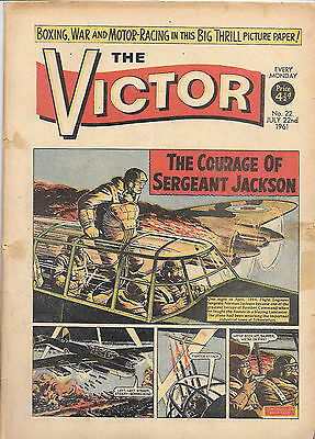 The Victor 22 (July 22, 1961) a mid-high grade copy