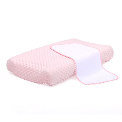 4Baby - Dot Change Pad Cover With Liner - Pink