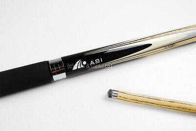 Riley HD-400 2 pc ASI Snooker Pool Cue + WAC Technology