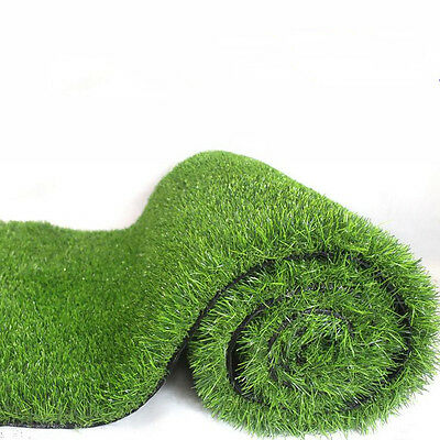 New 30mm Artificial Grass Lawn Synthetic Turf Landscape Indoor Outdoor
