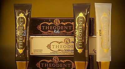 Theodent toothpaste coco bean