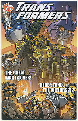 TRANSFORMERS TIMELINES #9; 2016 NM/MT A Common Foe, Fun Publications