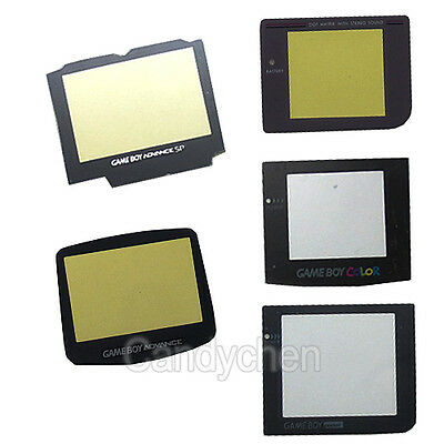 Replacement Protective Screen Lens For Game Boy Original Color Pocket Advance SP