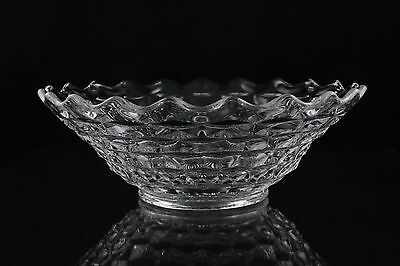 """Fostoria American Clear Round Footed Bowl 11"""""""