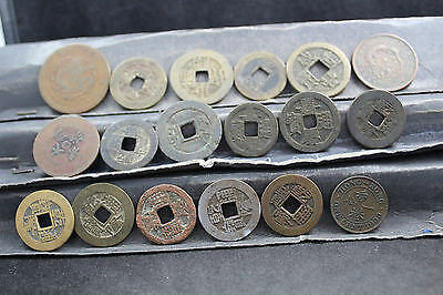 China - Asia  18  assorted coins   lot G 937