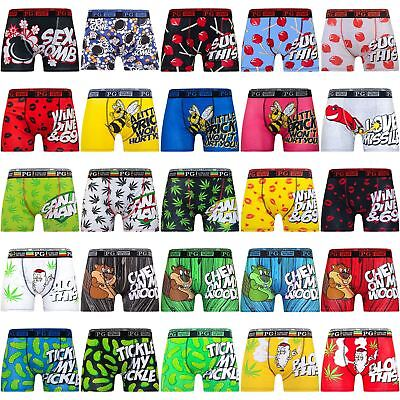 Mens Explicit Designer Rude Novelty Boxer Trunks Funny Gift Underwear 2018 Style