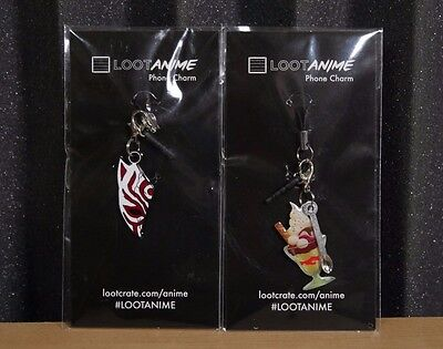 Loot Anime Phone Charms (Bleach, Ice Cream Sundae)