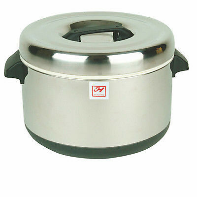 Thunder Group SEJ72000 40Cup Stainless Insulated Sushi Pot Sushi Rice Warmer