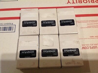 Crydom Solid State Relays (6), model D2D07