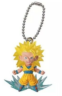 Dragon Ball DBZ SSJ3 Son Goku UDM KEY CHAIN Keychain AUTHENTIC NEW LICENSE