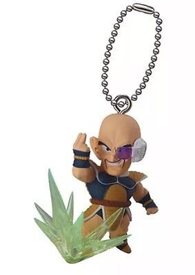 Dragon Ball Z DBZ NAPPA Key CHAIN Keychain Dragonball AUTHENTIC LICENSED NEW