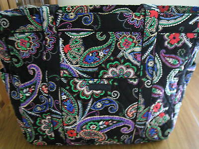 VERA BRADLEY GET CARRIED AWAY XL TRAVEL TOTE CARRY-ON BAG in KIEV PAISLEY NWT