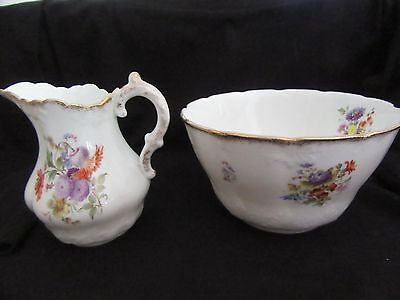 Antique Bowl and Creamer, from Scotland