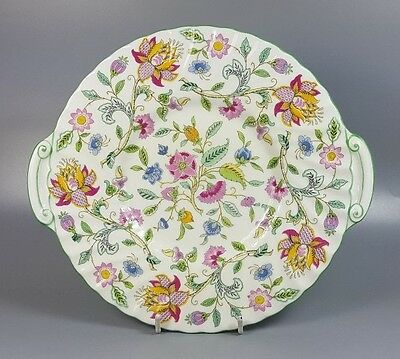 Minton Haddon Hall Cake Plate 24.5Cm X 22Cm (Perfect)