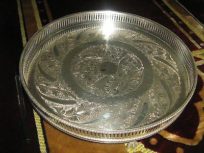 Antique Sheffield plate silver platted on copper Made in England