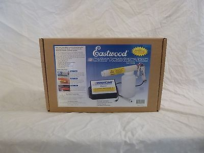 NEW Complete Eastwood Hot Coat Powder Coating System Paint Gun For Home or Shop