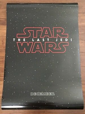 STAR WARS THE FORCE AWAKENS Double-Sided DS Original 27x40 Teaser Movie Poster