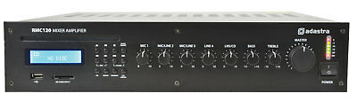 ADASTRA RMC120 mixer-amp 120W with CD/USB/SD/FM NEW