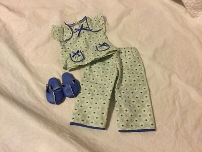 American Girl Molly Floral Pajamas Excellent