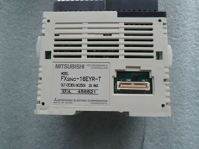 1PC Used  Mitsubishi FX2NC-16EYR-T FX2NC16EYRT PLC Module with 60days warranty