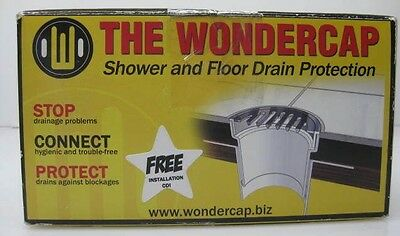 THE WONDERCAP Shower and Floor Drain Protection 50mm drain pipe