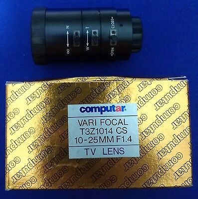 "Computar Vari-Focal 10-25mm 1/3"" 1:1.4 CCTV TV Lens T3Z1014CS ( VARI FOCAL )"