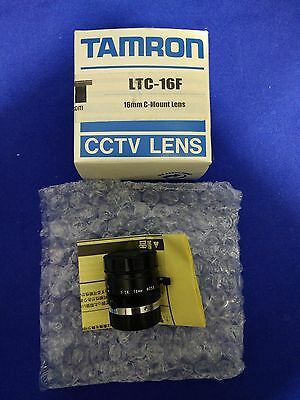 Tamron 23FM16-L, LEN-160C-001, LTC-16F, 16mm, 1:1.4 Smart Camera Lens, DVT