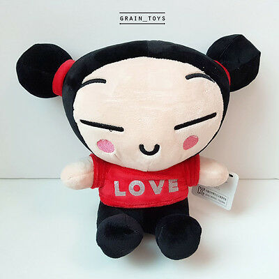 "[ Pucca] Pucca and Garu 10""25cm Plush Stuffed Dolls Korean Licensed Chinese Girl"